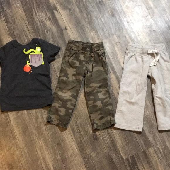 Boys clothes set size 2t